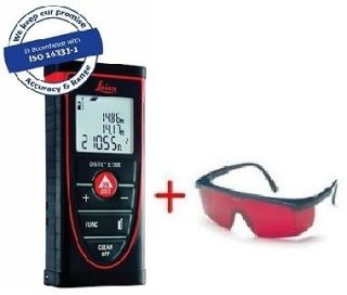 Leica DISTO E7300 Laser Distance Meter with Laser Glasses