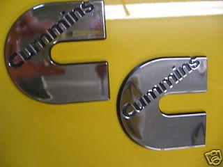 Dodge Ram 3500 / 2500 Cummins Diesel Engine Badges (2)