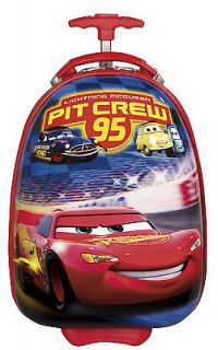 "Heys Disney Cars Carry on 18"" Rolling Carry on D237J"