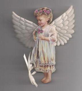 Heavens Little Angel Ornament Bradford Editions   GARDEN MIRACLE (AA