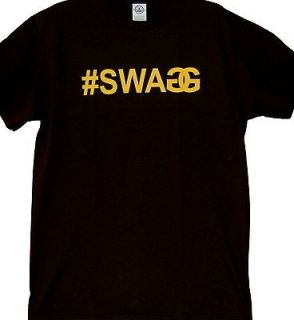 SWAGG DJ Pauly D Hip Hop Urban Swag New Screen Printed T Shirt Size S