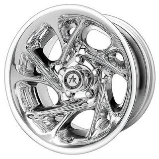 16x8 American Racing Nitro Chrome Wheel/Rim(s) 8x165.1 8 165.1 8x6.5