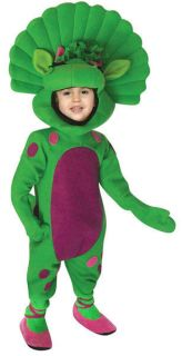 Toddler Barney Dinosaur Baby Bop Halloween Costume 3 4t