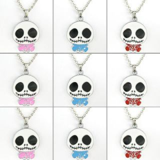 Bulk 9 pcs Jack Skellington Nightmare Before Christmas Necklaces Kids