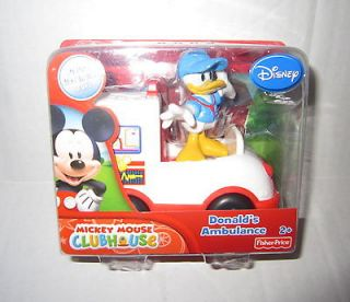 Fisher Price Disney Mickey Mouse Clubhouse Donald Duck & Ambulance