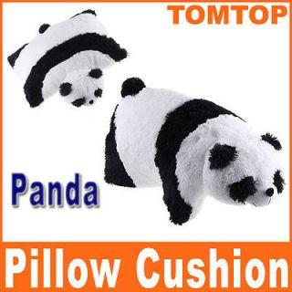 Lovely Pillow Cushion Soft Cartoon Giant Black White Panda Pet Animal