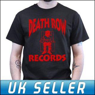 Death Row Records Tupac Snoop Dogg Suge Knight T shirt Top T shirt