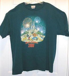Magic Kingdom 2000,Mickey Mouse Shirt size XL,Goofie,Dona ld Duck