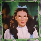 WIZARD OF OZ,JUDY GARLAND AS DOROTHY PORTRAIT,CUSHION SIZE QUILT