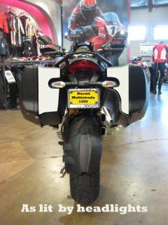 Ducati Multistrada 1200 hardbag reflective decals