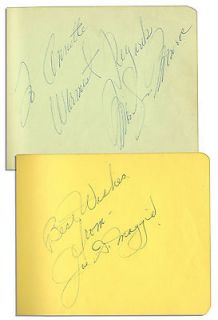 Marilyn Monroe & Joe Ds Autographs In the Same Album