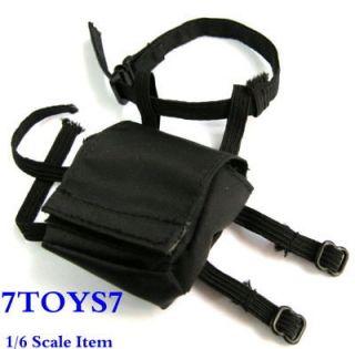 Custom 1/6 SWAT Gas Mask Pouch SDU Police 168