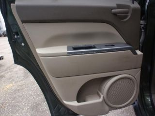 2007 PATRIOT Left Rear Door Trim Panel 2 Tone Brown CodeALKA Power