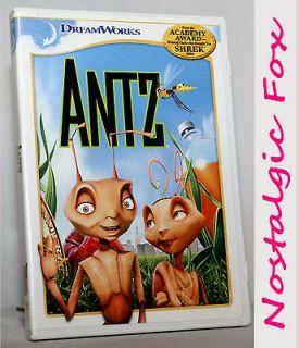 2006 ANTZ Dreamworks Childrens Animated Movie DVD~Full/Wides creen