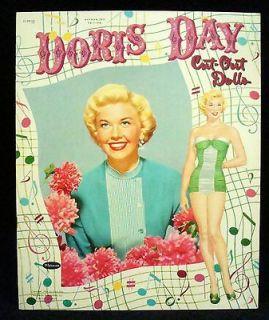 DORIS DAY PAPER DOLLS Vintage UNCUT ORIGINAL 1954 Whitman #117915