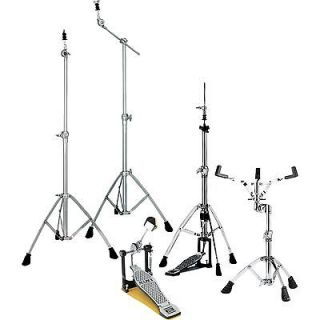 Pack HP7505A 2x Boom Cymbal Stands, Bass Drum Pedal, Double Brace