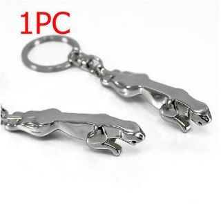 New 3D Jaguar Car Logo Key Ring Chain Keychain Fashion Cute Lover Gift