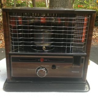 Panasonic Fired Portable Kerosene Heater 1.1 Gallon; OS 224X 9,300 BTU