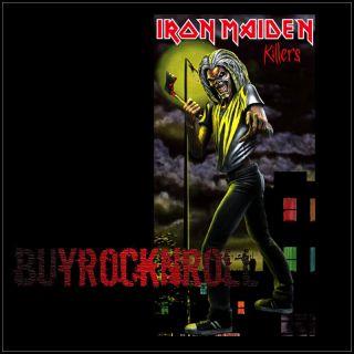 2011 NECA Iron Maiden Killers 7 Inch Action Figure NEW (LP Album