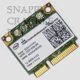 Dell Latitude Advanced N 6250 Wireless Card E5420 E5520 E6220 E6320