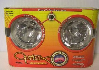 HELLA OPTILUX 2500 ANGEL EYES FOG/DRIVING LIGHTS LAMPS