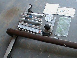 VEMCO V TRACK MARK XII DRAFTING MACHINE TRIANGULAR SCALES RULERS