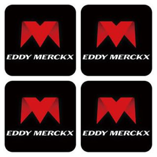 Eddy Merckx Bike Cycling Coaster Mat Pad 4 Pcs