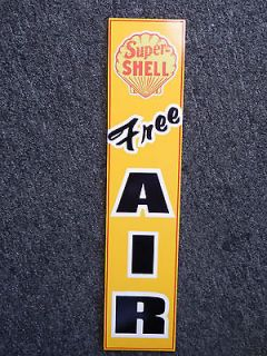 SUPER GAS/OIL GAS STATION PUMP ANTIQUE STYLE SIGN NICE/ OLD MANCAVE