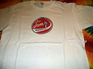 SCARCE NEW AUTHENTIC Pearl Jam Winnipeg Canada Concert Event T Shirt L