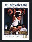 Richard Schutz signed autograph auto 1992 Impel U.S. Olympic Hopefuls
