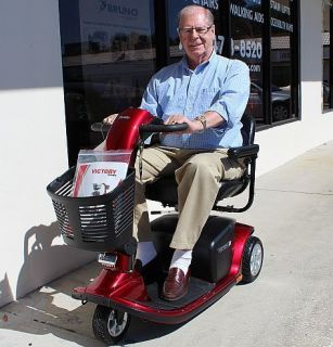 PRIDE VICTORY 9 ELECTRIC POWER MOBILITY SCOOTER CERTIFIED USED SC609