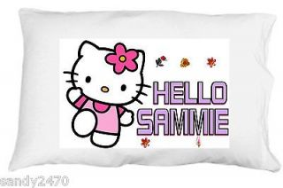 Hello Kitty personalized standard/queen pillowcase