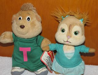 The Chipmunks PLush LOT Theodore Doll & Ty Plush Eleanor Chipette 6