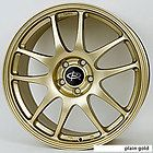 17 ROTA TORQUE GOLD RIMS WHEELS 17x8 +48 5x114.3 MAZDASPEED3 SPEED6