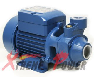 ALUMINUM 1/2 HP ELECTRIC WATER PUMP POOL FARM POND