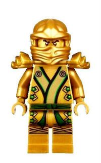 LEGO NINJAGO GOLDEN NINJA LLOYD Minifigure 70505  GOLD NINJA new