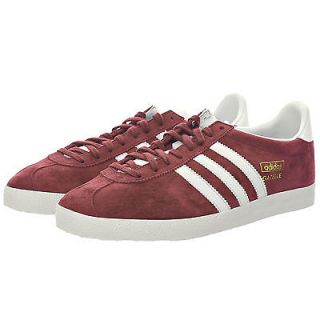 Originals Mens GAZELLE OG Shoes Retro Mars Red White dragon gold