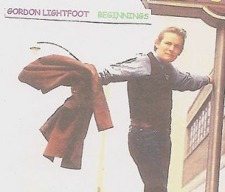 GORDON LIGHTFOOT   BEGINNINGS   RAREST EARLIEST   TWO TONES, Chateau