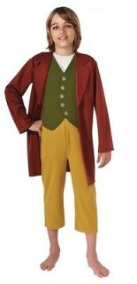 The Hobbit Bilbo Baggins   Child Standard Costume