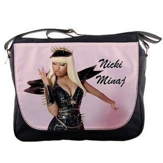 Nicki Minaj Pink Black Messenger Bag Shoulder Bag Satchel Schoolbag 4