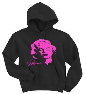 Marilyn Monroe Neon Pink Marylin Design shirt Hoodie Hooded sweater