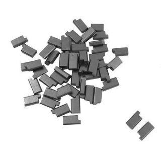 10 x 1/5 x 25/64 Electric Motor Carbon Brush Repair Part 50 Pcs