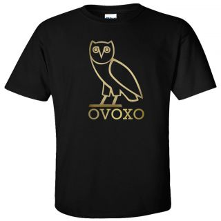 Octobers Very Own T Shirt Owl OVOXO Gold Logo Shirt S 5XL Sizes2