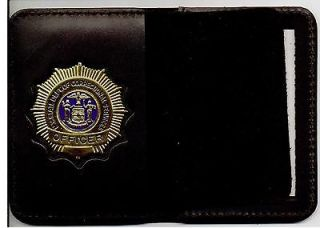 NYS Dept of Corrections Officer Style Badge CutOut/ID Card BiFold