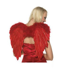 Feather Angel Wings Secret Dark Fairy Good Victoria Sexy  Black White
