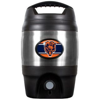 Chicago Bears NFL Insulated Plastic & Stainless Steel 1 Gallon