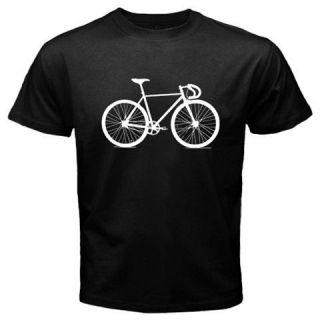 RETRO 10 SPEED Bicycle BIKE cyclist bicyclist Vintage black T SHIRT