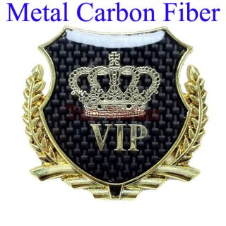 Gold Metal Side Badge Sticker Emblem Ford Wolf Sport Edge Focus VIP