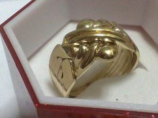 Newly listed Gold Plated 8 Band Puzzle Ring