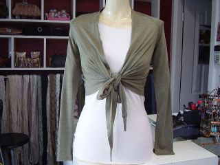 LUSHOUS Seagreen Long Sleeved Ballet Wrap